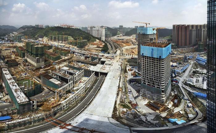 Масштабное строительство в Китае