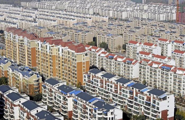 Современные жилые кварталы в Китае