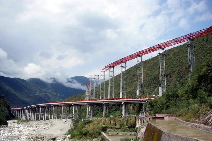 Строительство дорог в Китае