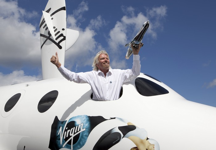 Миллиардер Ричард Брэнсон, основатель компании Virgin Galactic