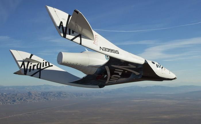 Частный космический челнок SpaceShipTwo VSS Enterprise