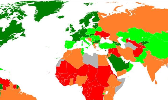 Рейтинг стран по простоте ведения бизнеса
