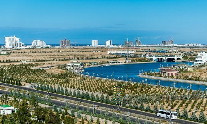 Аваза - город-курорт в Туркменистане. Автор фото: Сергей Доля