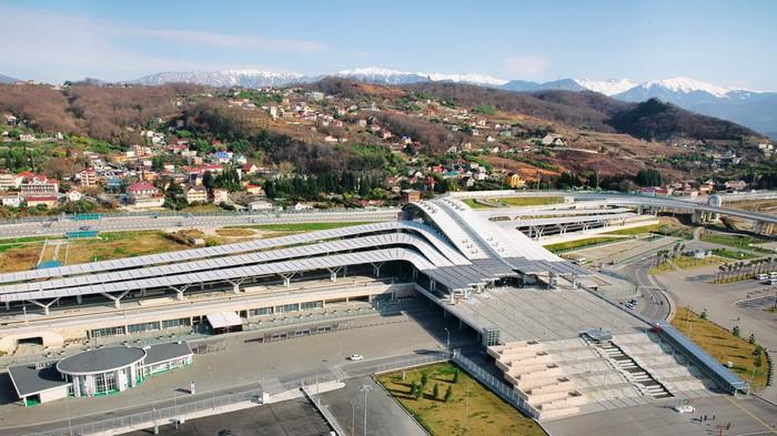 Железнодорожная станция Олимпийский парк в Адлере