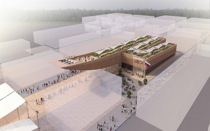 Российский павильон на Всемирной выставке EXPO-2015 в Милане