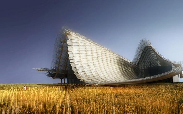Китайский павильон на Всемирной выставке EXPO-2015 в Милане