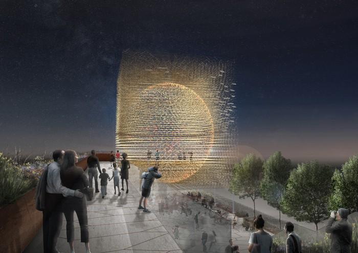 Британский павильон на Всемирной выставке EXPO-2015 в Милане