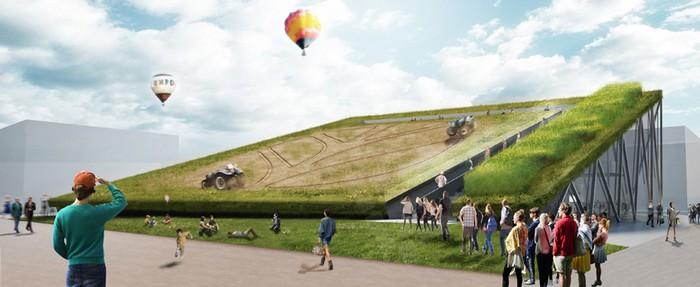 Голландский павильон на Всемирной выставке EXPO-2015 в Милане