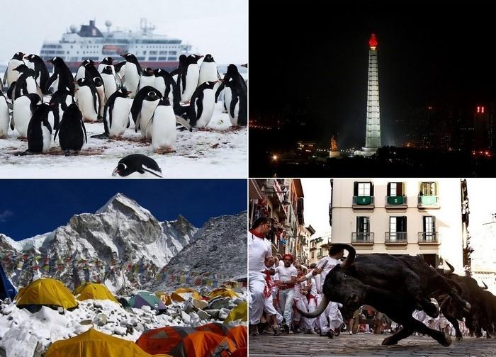 Самые экстремальные в мире места для туризма