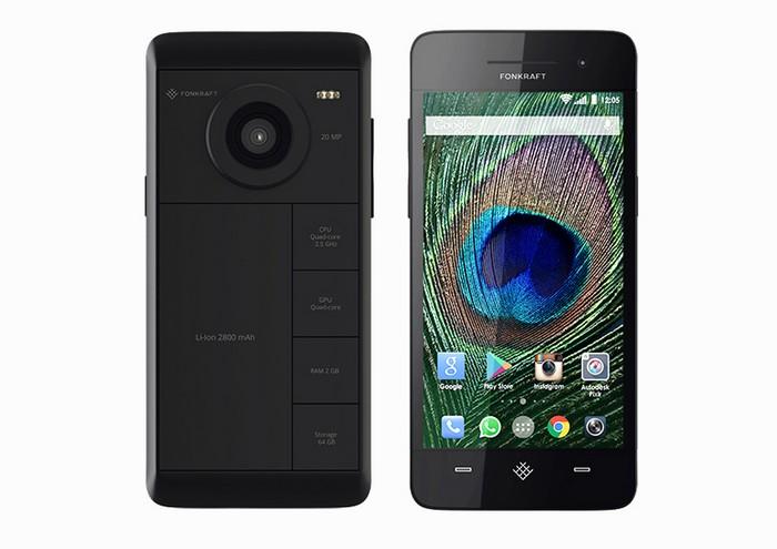 Модульный телефон Fonkraft Resolution
