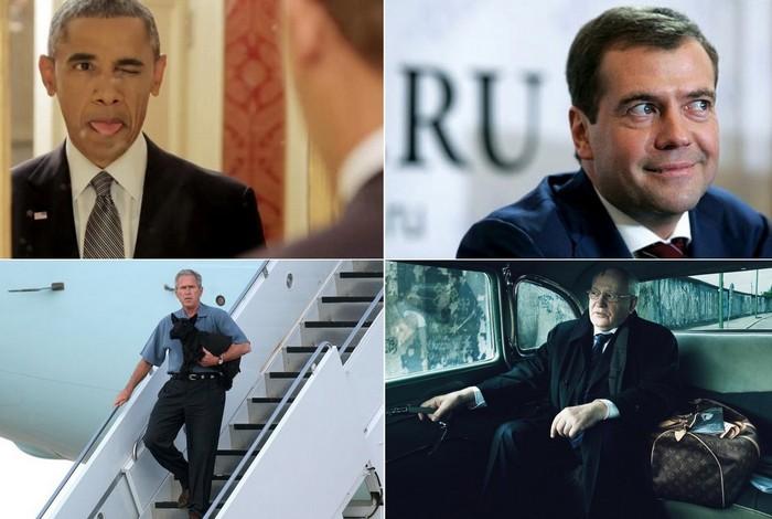 Невероятные юмористические видео с известными мировыми политиками