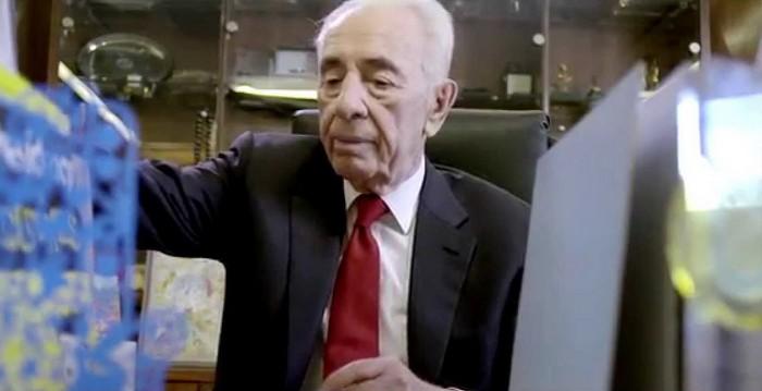 Фильм о поисках работы Шимоном Пересом