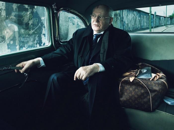 Михаил Горбачев в рекламе бренда Louis Vuitton