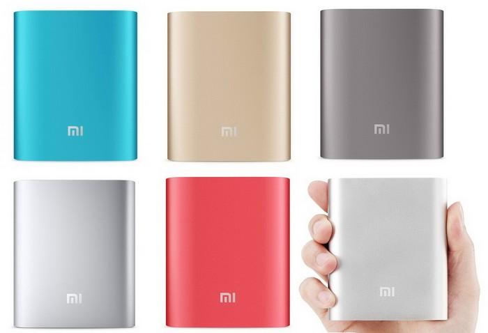 Зовнішні акумулятори Xiaomi Mi Power Bank
