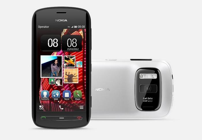 Смартфон Nokia 808 з камерою на 41 мегапікселів і оптикою від Carl Zeiss