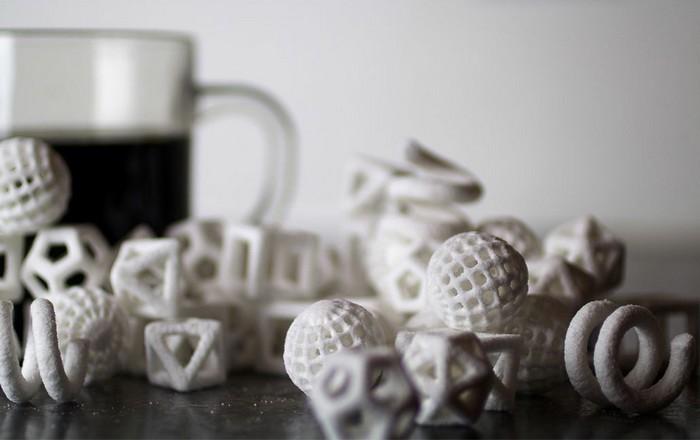 Создание еды на принтере