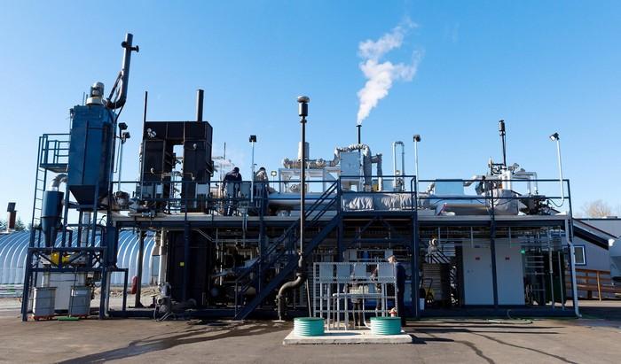 Завод по очистке воды от Билла Гейтса