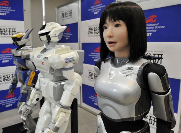 Человекообразные автономные роботы
