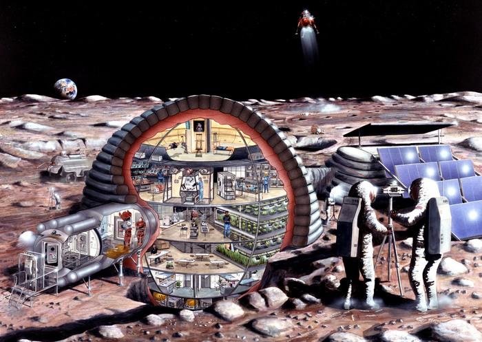 Колонизация Луны и Марса