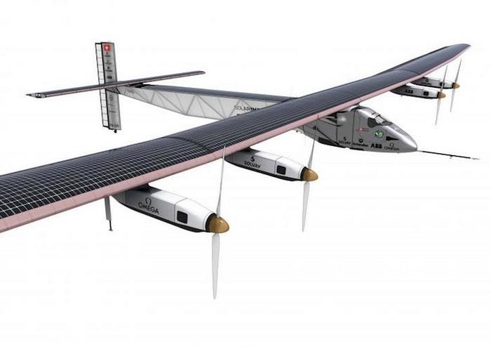 Кругосветное путешествие на электрическом самолете Solar Impulse 2