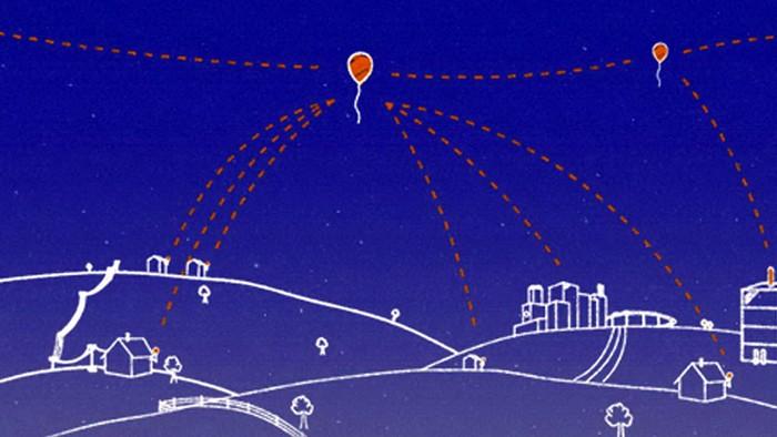 Project Loon – бесплатный Интернет на воздушных шарах