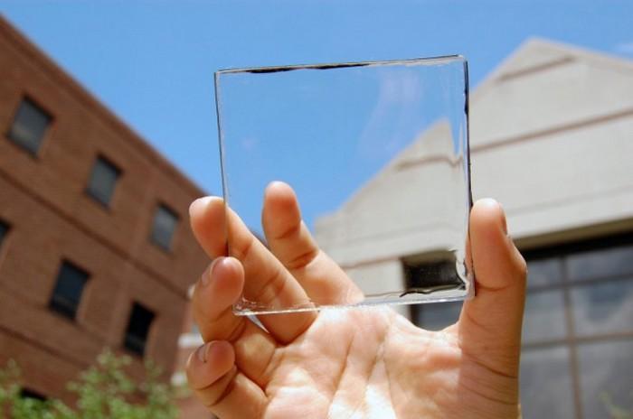 Прозрачные солнечные панели