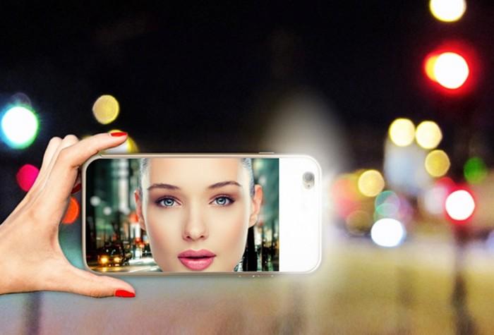 Lighted Mirror Phone Case – зеркальный чехол на телефон для прекрасных девушек