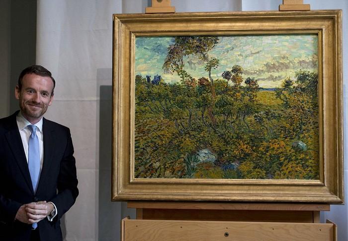 Закат в Монмажуре - неизвестная картина Ван Гога