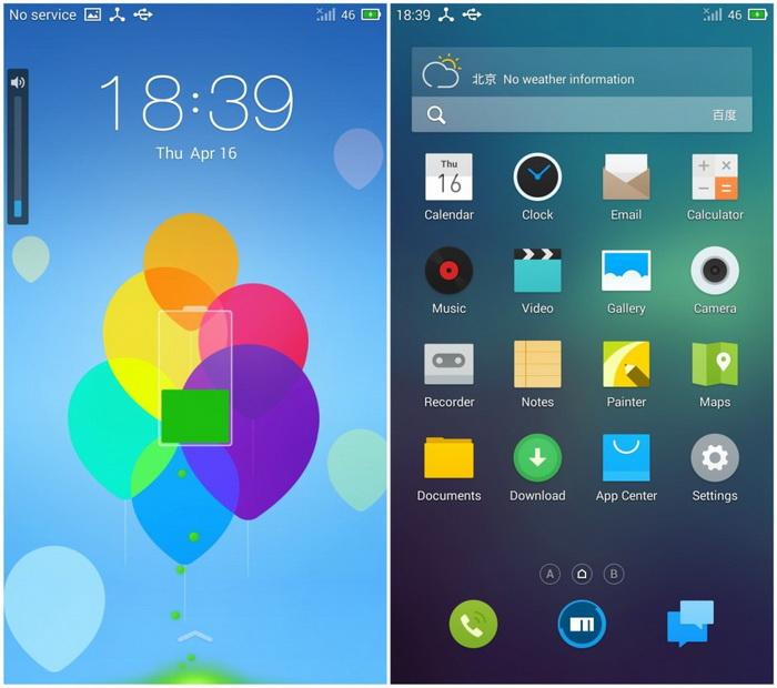 Операционная система Flyme от компании Meizu