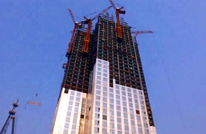 Mini Sky City - 57-поверховий хмарочос, який побудували за 19 днів