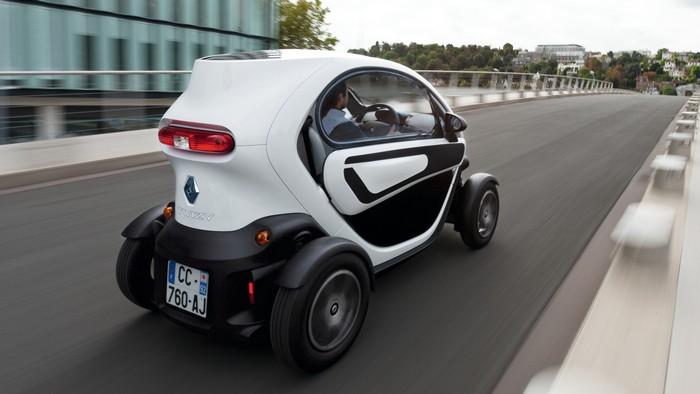 Renault Twizzy – самый дешевый в мире электромобиль