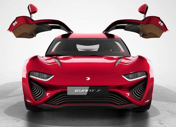 Quant F – спортивный электромобиль, который можно заправлять соленой водой