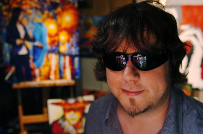 Джон Брамблитт - слепой художник