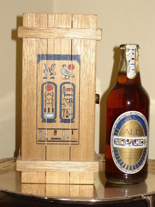 Эль Тутанхамона - современное британское пиво по древнеегипетскому рецепту