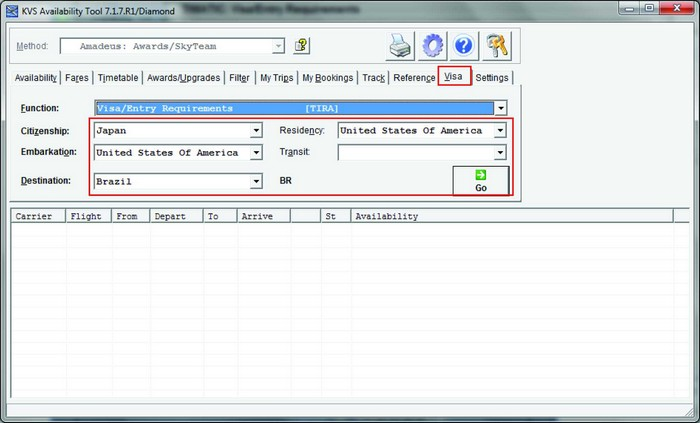 Доступ к базе данных Timatic