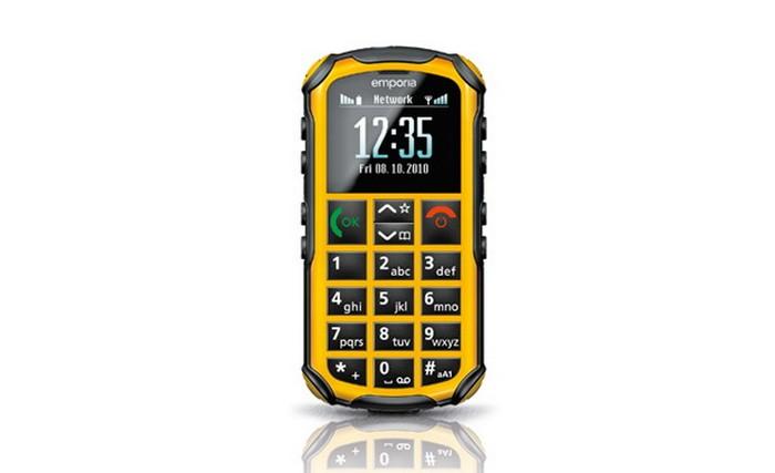 Emporia Solid - защищенный мобильный телефон для бабушек и дедушек