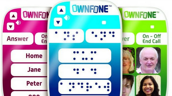 OwnFone - мобильный телефон для стариков