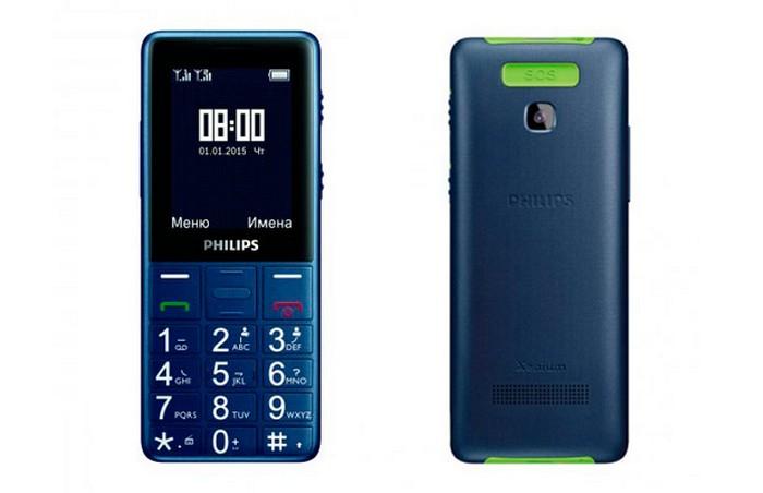 Philips Xenium E311 - мобильный телефон для бабушек и дедушек