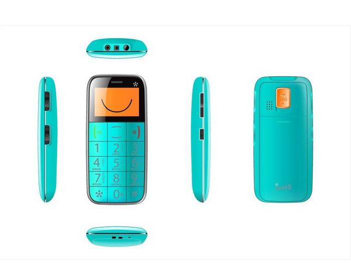 Just5 Space - мобильный телефон для пенсионеров и детей