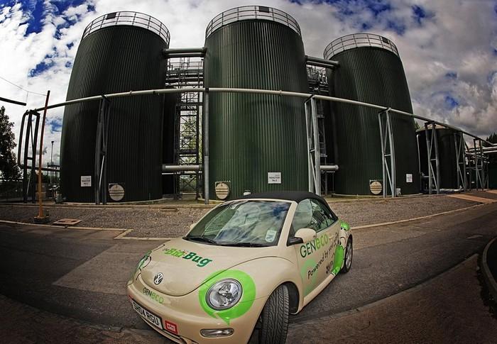 VW Bio-Bug - автомобіль, який їздить на людських газах