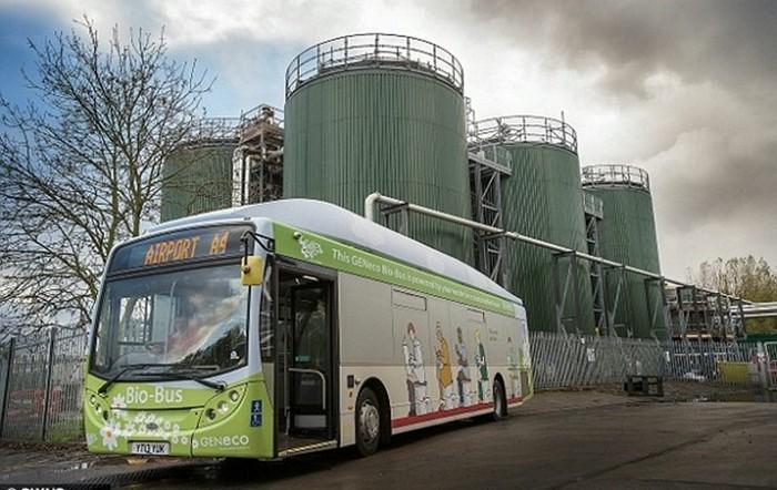 VW Bio-Bus - автобус, який їздить на людських газах