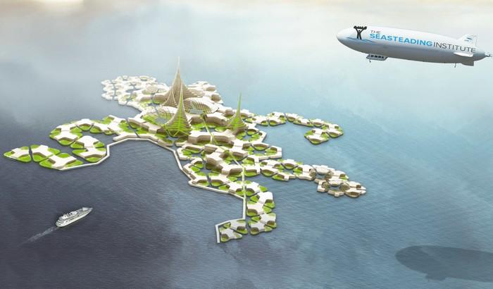 Плавающие города-государства от Питера Тиля и Seasteading Institute