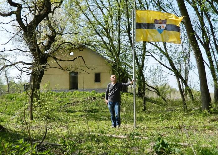 Либерленд – независимое государство на спорной территории