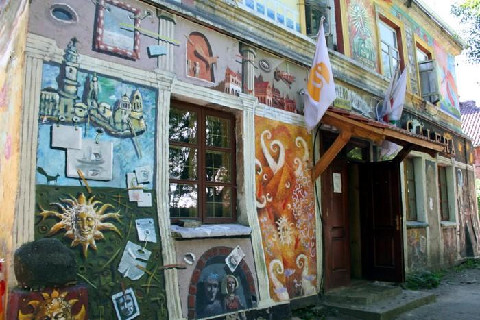 Ужупис – республика художников и поэтов в центре Вильнюса