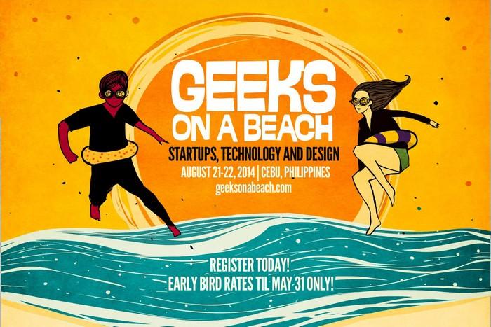 Пляжная конференция Geeks on a Beach