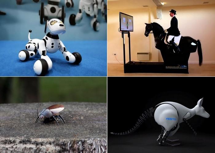 Роботы в виде животных