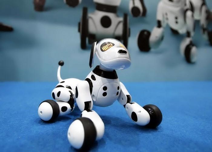 Интерактивная игрушка ZOOMER – робот-собака