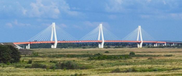 Муромский мост через реку Ока