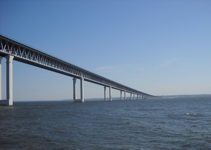 Президентский мост в Ульяновске