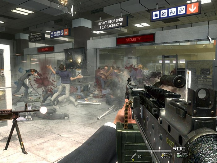 Миссия No Russian в видеоигре Call of Duty: Modern Warfare 2